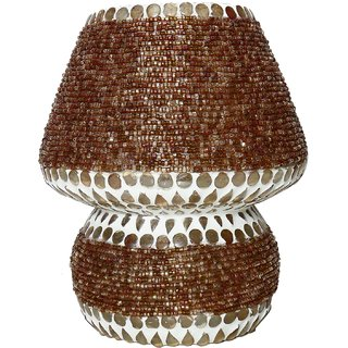 Beadworks Mosaic Glass Table Lamp