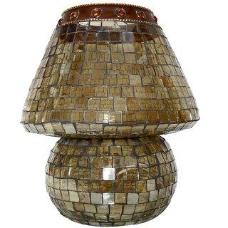Beadworks Mosaic Glass Table Lamp