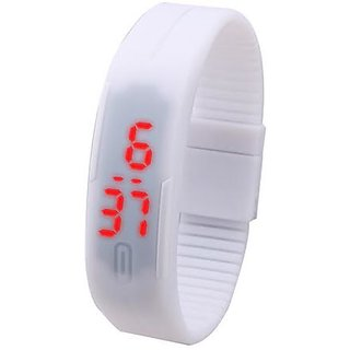 white band watch for men's