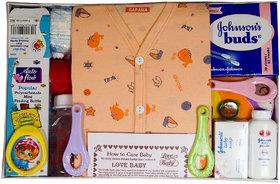 Love Baby Gift Set Sapna - Peach