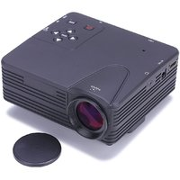Mini Portable Led Projector For Laptop Desktop Tv With Hdmi Vga Usb Port