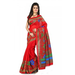Florence Multi Color Bhagalpuri Silk Saree (FL-10657)