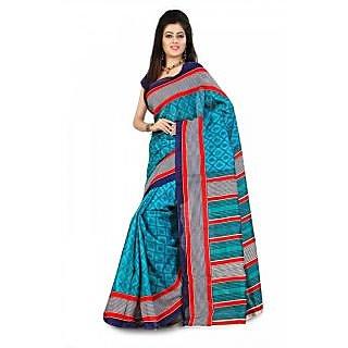 Florence Multi Color Bhagalpuri Silk Saree (FL-10660)