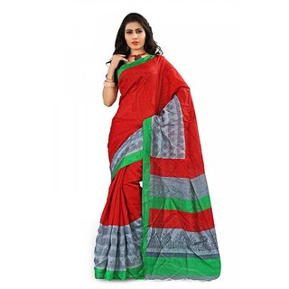 Florence Multi Color Bhagalpuri Silk Saree (FL-10663)