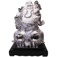 Gift Valley Exclusive Laughing Buddha Standing On Fish