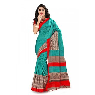 Florence Multi Color Bhagalpuri Silk Saree (FL-10667)
