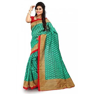 Florence Multi Color Bhagalpuri Silk Saree (FL-10668)