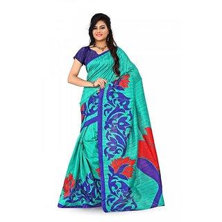 Florence Multi Color Bhagalpuri Silk Saree (FL-10671)