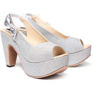 Ruby Women's Silver Heels