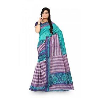 Florence Multi Color Bhagalpuri Silk Saree (FL-10677)