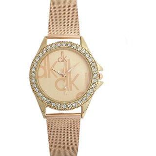 New Unique Attractive Designer Copper Color Wrist Watch for Girls  Women