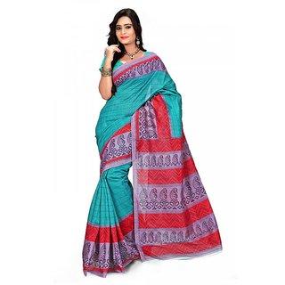 Florence Multi Color Bhagalpuri Silk Saree (FL-10683)