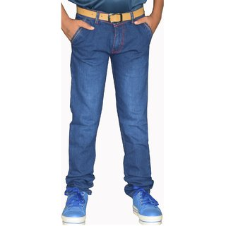 Denim Jeans Pant for Boys-Blue (4001)