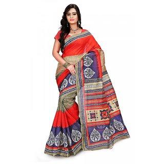 Florence Multi Color Bhagalpuri Silk Saree (FL-10688)