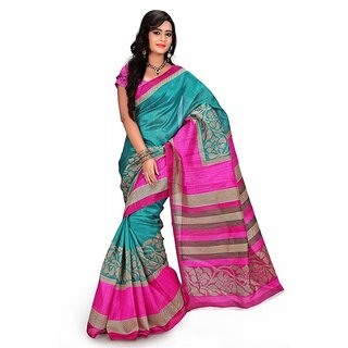 Florence Multi Color Bhagalpuri Silk Saree (FL-10691)