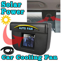 Solar Powered Auto Cool Ventilation Fan