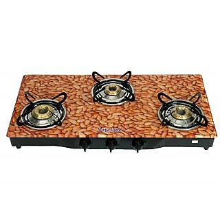 Surya Flame Almond Three Burner