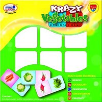 Krazy Vegetables Dominoe Game