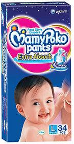 Mamy Poko Pants Diaper Large (34 Pcs)