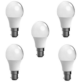 7w Led Bulb (set of 5)Cool Day white  Brightest Light With 1 Year Warranty