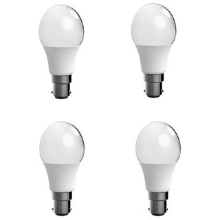 12w Led Bulb (set of 4)Cool Day white  Brightest Light With 1 Year Warranty