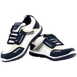 Provogue Men's Blue & Gray Running Shoes