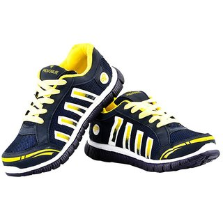 Provogue Men's Yellow Running Shoes