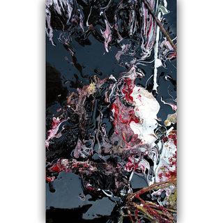 Vitalwalls Abstract Painting Premium Canvas Art Print(Abstract-005-45cm)