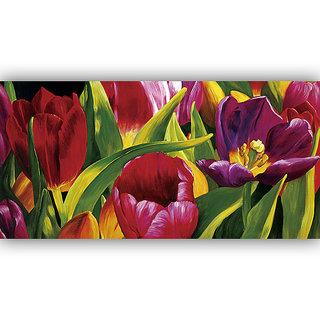 Vitalwalls Abstract Painting Premium Canvas Art Print(Abstract-007-45cm)