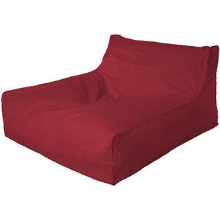 Bliss Bags Classic Maroon Bean Bag Bed