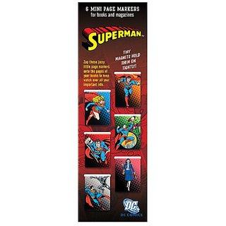 Mini Page markers (Warner Bros Series) - Superman