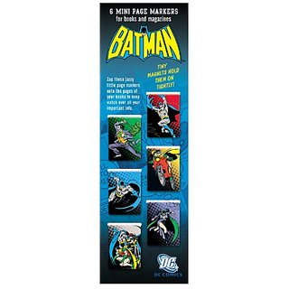 Mini Page markers (Warner Bros Series) - Batman