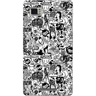 Gstore Hard Back Case Cover For Lenovo Vibe Z K910-G127