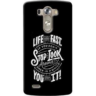 Gstore Hard Back Case Cover For LG G3-G134