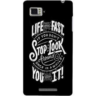 Gstore Hard Back Case Cover For Lenovo Vibe Z K910-G124