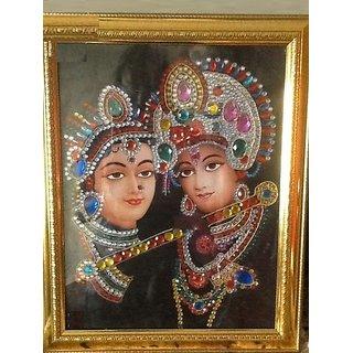 Photo frame of Radha Krishna