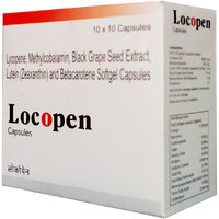 LOCOPEN ANTIOXIDENT-100 CAPSULE, BLACK GRAPE SEED EXTRACT BY GRAPPLE LIFESCIENCE