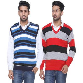 Grand Bear Men's Tan Sweater (Pack of 2)
