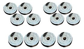 40 KG BODY MAXX CHROME STEEL SPARE WEIGHT PLATES..!!