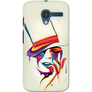 Gstore Hard Back Case Cover For Motorola Moto X-G152