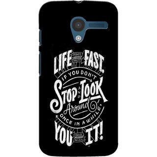 Gstore Hard Back Case Cover For Motorola Moto X-G154
