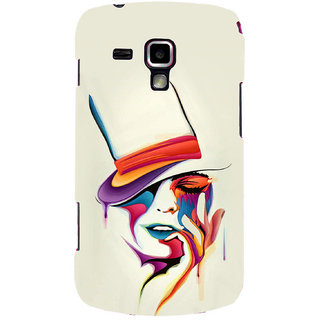 Gstore Hard Back Case Cover For Samsung Galaxy S Duos 7562-G182