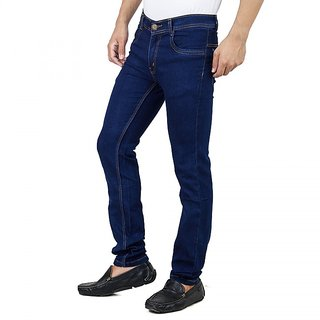Stylox Men's Blue Slim Fit Jeans
