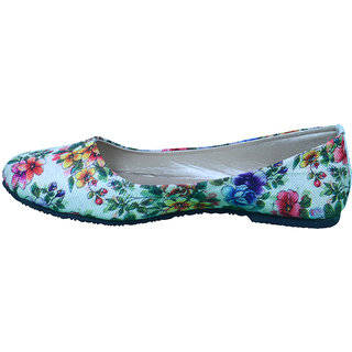 Anira - Beautiful Cream Colour Ballerinas/Bellies for Women and Girls