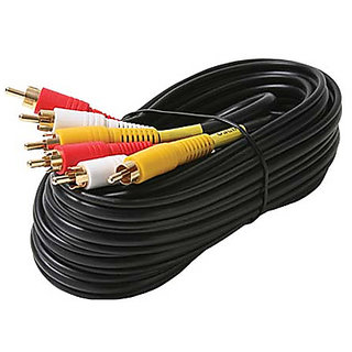 Raymax 3Rca to Rca or Av Cabl 20M