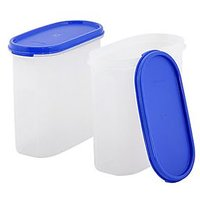Tupperware Modular Mate Oval Container - 1.7 Litre (Set Of 2)