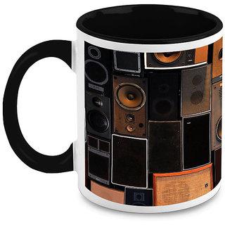 HomeSoGood Musical Speakers Coffee Mug (HOMESGMUG1631)