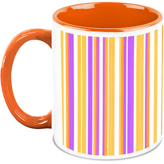 HomeSoGood Colors In Straight Line Coffee Mug (HOMESGMUG1690)