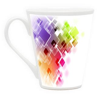 HomeSoGood Disappearing Colors Latte Coffee Mug (HOMESGMUG1715)