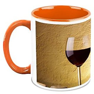 HomeSoGood Pure Wine Coffee Mug (HOMESGMUG1668)